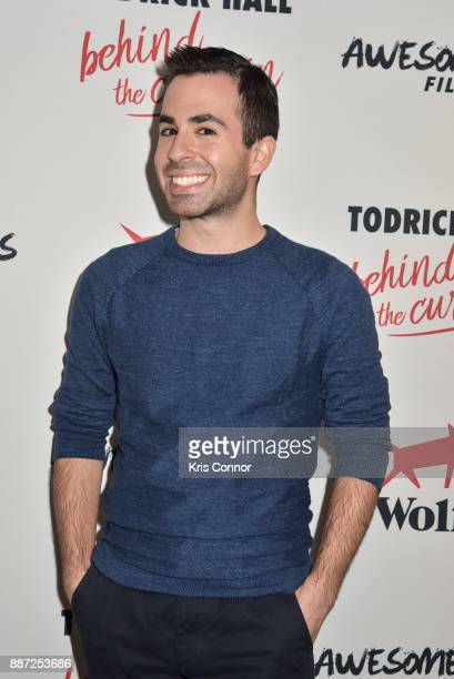 Evan Schwartz attends the 'Behind The Curtain Todrick Hall' screening at IFC Center on December 6 2017 in New York City