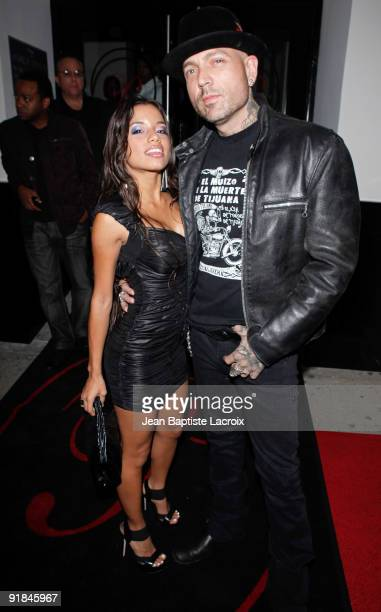 Evan Seinfeld and Lupe Fuentes sighting in West Hollywood on October 12 2009 in Los Angeles California