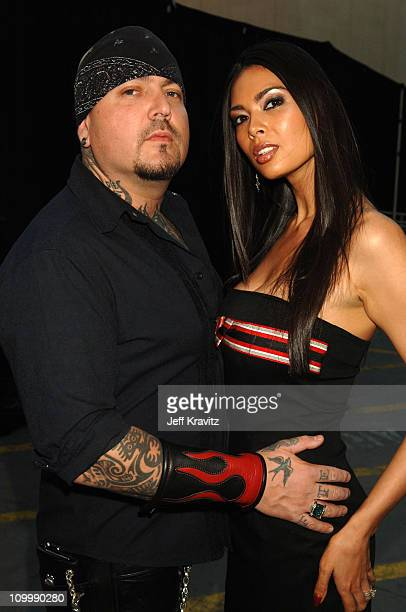 Evan Seinfeld and Tera Patrick during 2006 VH1 Rock Honors Red Carpet at Mandalay Bay Hotel and Casino in Las Vegas United States United States