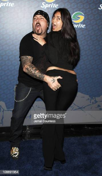Evan Seinfeld and Tera Patrick during Sprite Street Couture Showcase - Arrivals and Afterparty at Guastavino's in New York City, New York, United...