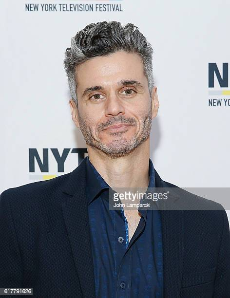 Evan Shapiro attends Artist Welcome/Industry Keynote with Carter Bays and Craig Thomas during the 12th Annual New York Television Festival at Helen...