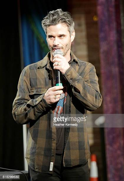 Evan Shapiro of Seeso.com speaks onstage at HarmonQuest during the 2016 SXSW Music, Film + Interactive Festival at Esther's Follies on March 12, 2016...