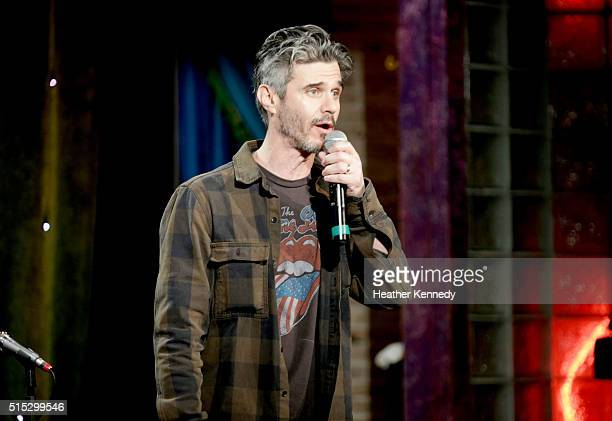 Evan Shapiro of Seesocom speaks onstage at HarmonQuest during the 2016 SXSW Music Film Interactive Festival at Esther's Follies on March 12 2016 in...
