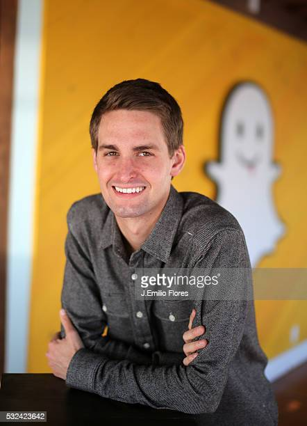 Evan Spiegel and Bobby Murphy developers of Snapchat