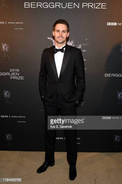Evan Spiegel attends the Fourth Annual Berggruen Prize Gala celebrating 2019 Laureate Supreme Court Justice Ruth Bader Ginsburg in New York City on...