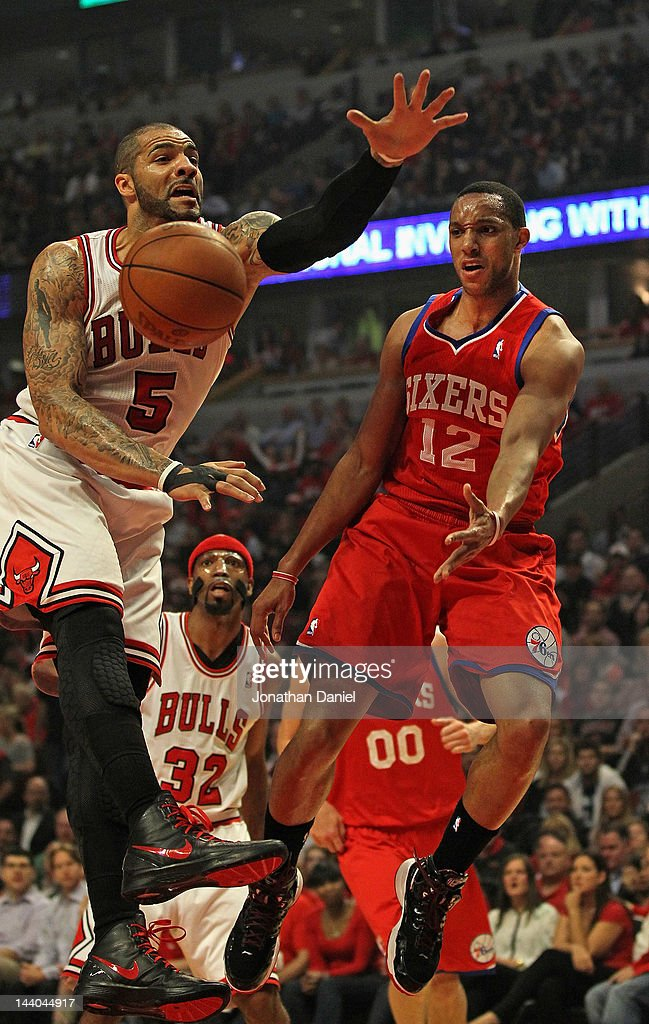 Philadelphia 76ers v Chicago Bulls - Game Five : News Photo
