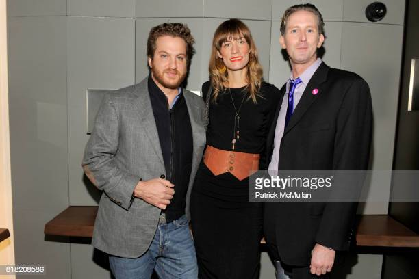 Evan Yurman Gretchen Jones and Jason Dorn attend DAVID YURMAN Hosts A Men's Evening with dot429 at David Yurman's Townhouse on November 3rd 2010 in...