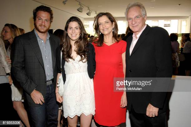 Evan Yurman, Victoria Black, Debra Black and David Yurman attend DAVID YURMAN & CHRISTIE'S host a benefit for the MELANOMA FOUNDATION at Christie's...