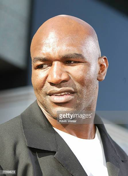 Evander Holyfield at the 2nd Annual BET Awards at the Kodak Theatre in Hollywood Ca Tuesday June 25 2002 Photo by Kevin Winter/ImageDirect