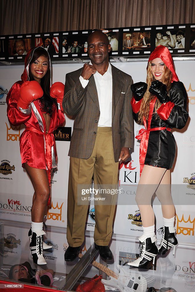 Evander Holyfield attends Don King Tribute at Seminole Hard Rock Hotel on June 22 2012  sc 1 st  Getty Images : don king costume  - Germanpascual.Com