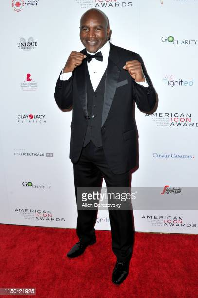 Evander Holyfield attends the American Icon Awards at the Beverly Wilshire Four Seasons Hotel on May 19 2019 in Beverly Hills California