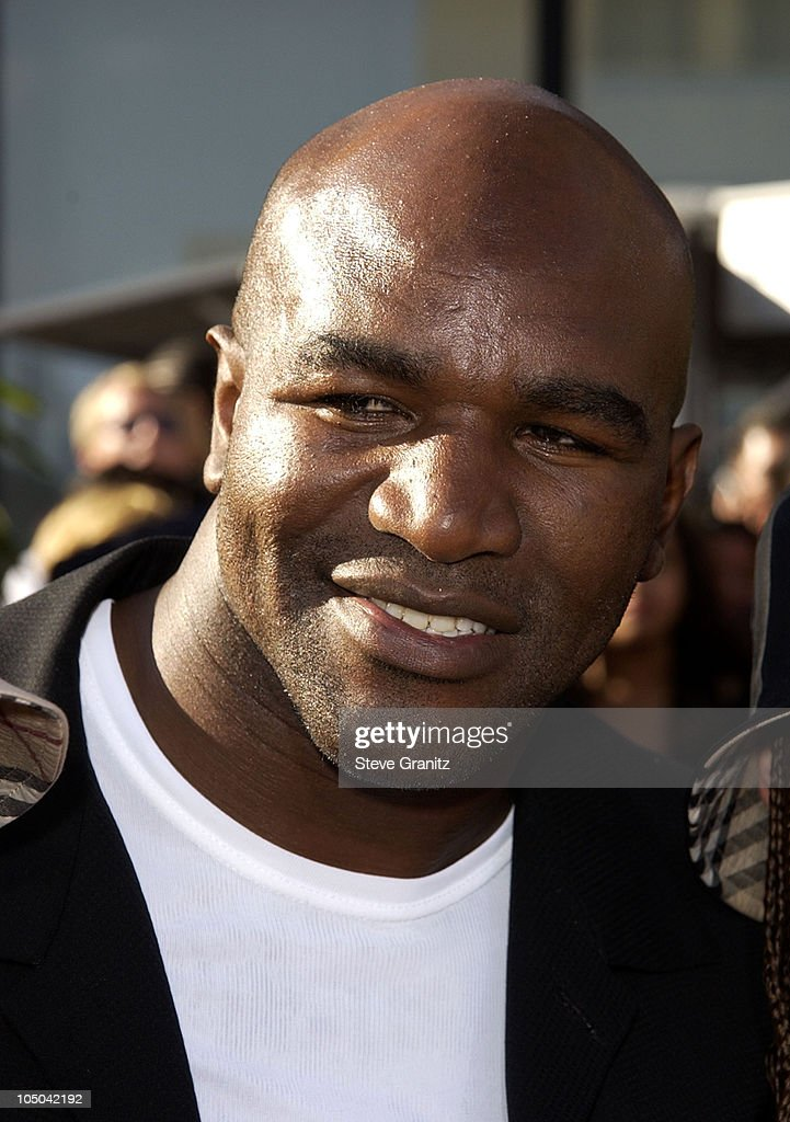 Evander Holyfield during The 2nd Annual BET Awards - Arrivals at The Kodak Theater in Hollywood, California, United States.