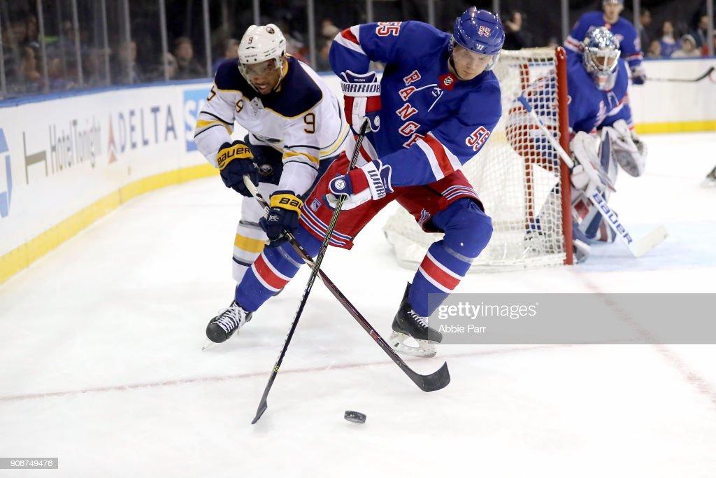 Buffalo Sabres v New York Rangers : News Photo