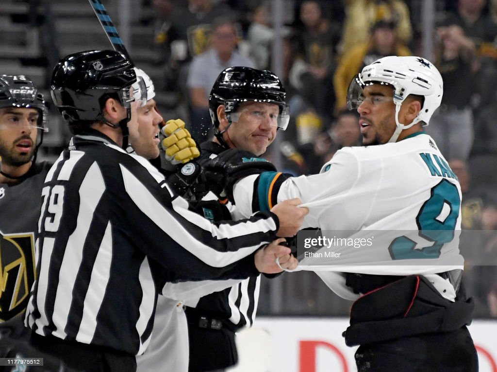 San Jose Sharks v Vegas Golden Knights : News Photo