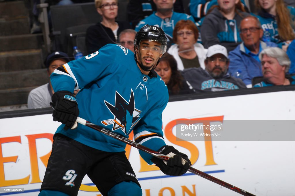 Vegas Golden Knights v San Jose Sharks - Game Four : News Photo