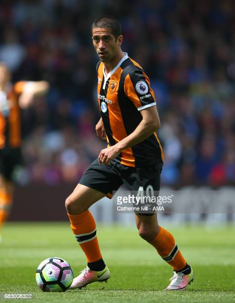 Evandro Goebel of Hull City during the Premier League match between Crystal Palace and Hull City at Selhurst Park on May 14 2017 in London England