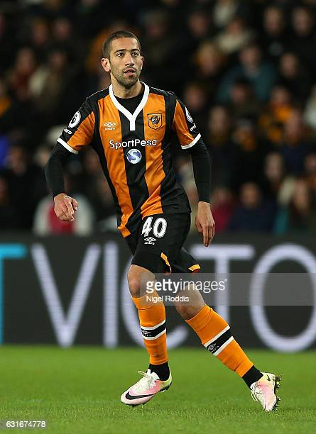 Evandro of Hull City in action during the Premier League match between Hull City and AFC Bournemouth at KCOM Stadium on January 14 2017 in Hull...