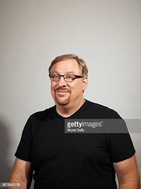Evangelical Christian pastor and author Rick Warren is photographed for Time Magazine on May 17, 2012 in California. He is the founder and senior...