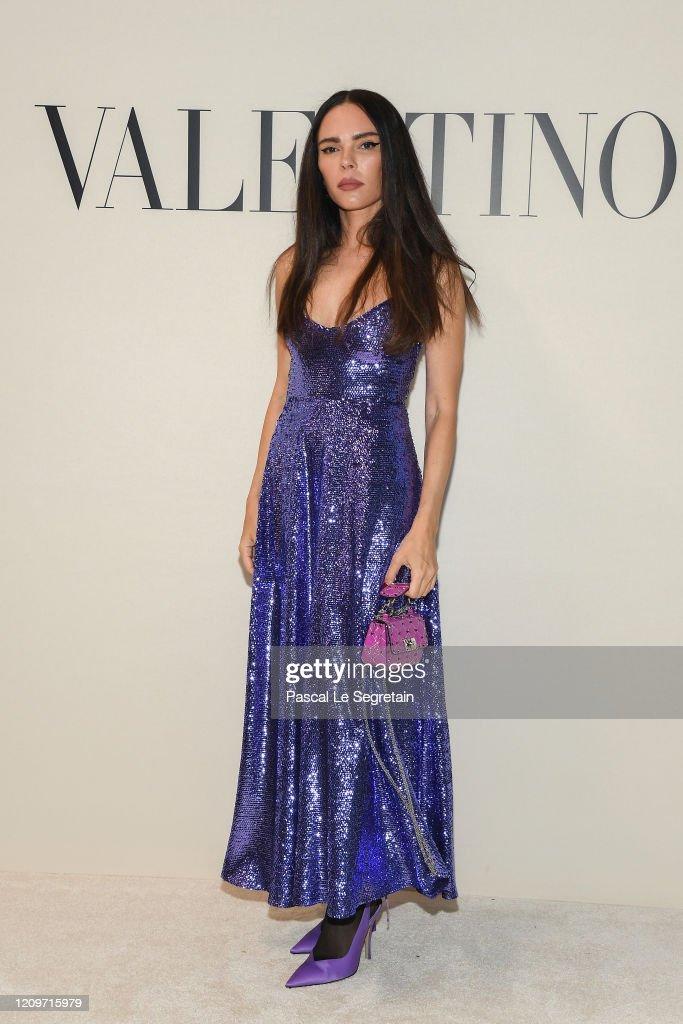 Valentino : Front Row - Paris Fashion Week Womenswear Fall/Winter 2020/2021 : News Photo