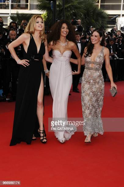 Evangeline Lilly Afef Jnifen and Doutzen Kroes