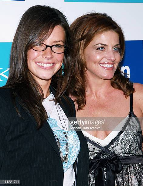 Evangeline Lilly and Michelle K during Evangeline Lilly The New Face of Michelle K Modern Chic Footwear Arrivals June 15 2006 at Kitson Boutique in...