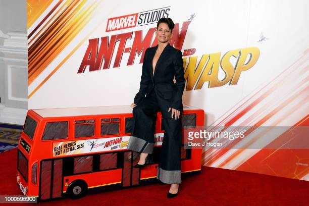 Evangeline Lilly attends the 'AntMan and the Wasp' photocall at The Corinthia Hotel on July 17 2018 in London England