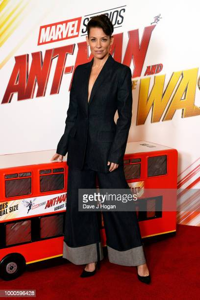 Evangeline Lilly attends the AntMan and the Wasp photocall at The Corinthia Hotel on July 17 2018 in London England