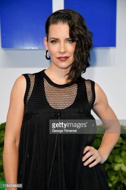 Evangeline Lilly attends the CTV Upfront 2019 at Sony Centre For Performing Arts on June 06 2019 in Toronto Canada