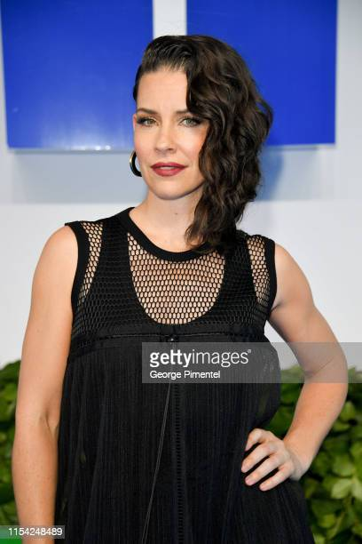 Evangeline Lilly attends the CTV Upfront 2019 at Sony Centre For Performing Arts on June 06, 2019 in Toronto, Canada.