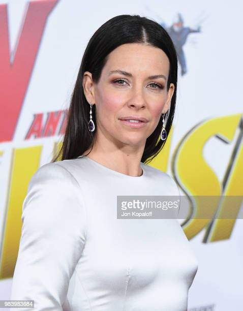 Evangeline Lilly attends the premiere of Disney And Marvel's AntMan And The Wasp at the El Capitan Theater on June 25 2018 in Hollywood California