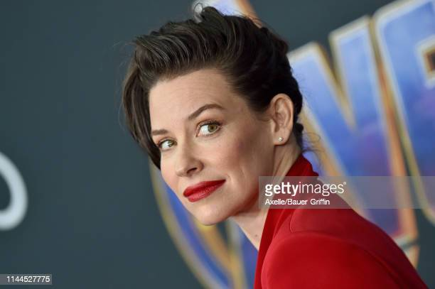 Evangeline Lilly attends the World Premiere of Walt Disney Studios Motion Pictures 'Avengers: Endgame' at Los Angeles Convention Center on April 22,...