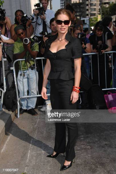Evangeline Lilly during 2007 ABC Network UpFront at Lincoln Center in New York City New York United States