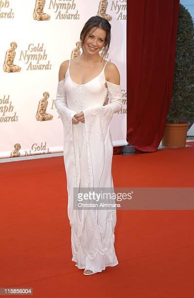 Evangeline Lilly during 45th Monte Carlo Television Festival Closing Award Ceremony at Grimaldi Forum in Monte Carlo Monaco