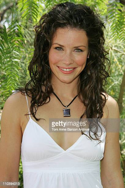 Evangeline Lilly during 45th Monte Carlo Television Festival 'Lost' Photocall at Japonese Gardens in Monte Carlo Monaco