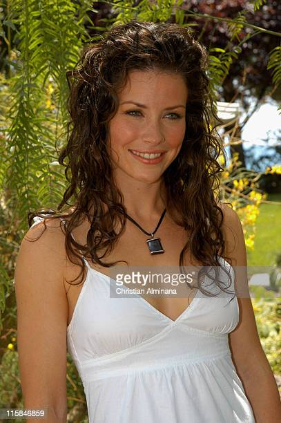 Evangeline Lilly during 45th Monte Carlo Television Festival 'Lost' Photocall at Grimaldi Forum in Monte Carlo Monaco