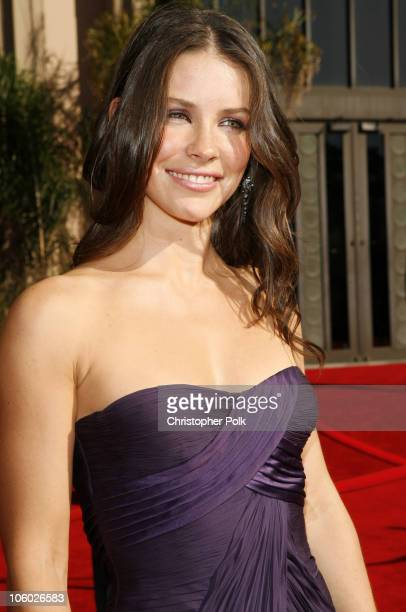 Evangeline Lilly during 58th Annual Primetime Emmy Awards Red Carpet at The Shrine Auditorium in Los Angeles California United States