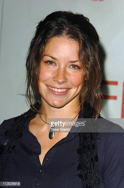 Evangeline Lilly during AFI Awards Luncheon Arrivals in Los Angeles California United States