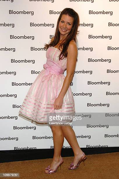 Evangeline Lilly during The 2005 White House Correspondents' Association Dinner Bloomberg After Party at 2107 Wyoming Ave in New York City New York...