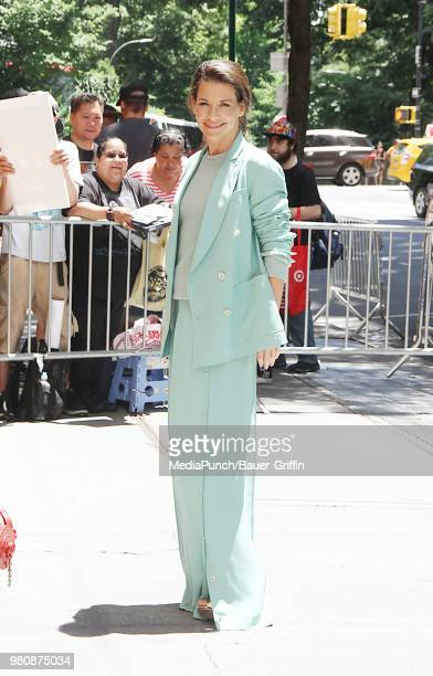 Evangeline Lilly is seen on June 21 2018 in New York City