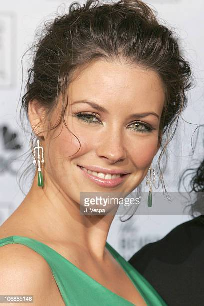 Evangeline Lilly presenter during The 63rd Annual Golden Globe Awards Press Room at Beverly Hilton Hotel in Beverly Hills California United States