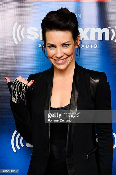 Evangeline Lilly visits SiriusXM's Entertainment Weekly Radio channel at SiriusXM Studios on December 12 2013 in New York City
