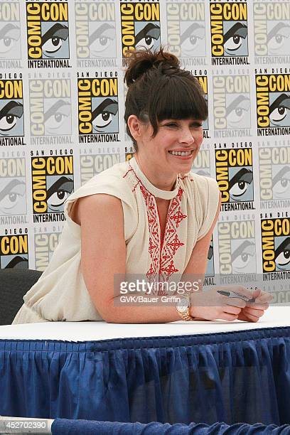Evangeline Lily at ComicCon on July 25 2014 in San Diego California
