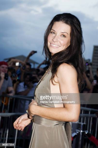 Evangeline Lily attends the 'Lost' screening and premiere party at Wolfgang's Steakhouse on January 30 2010 in Honolulu Hawaii