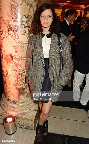 Evangeline Ling attends a private view of new exhibition Undressed A Brief History Of Underwear at The VA on April 13 2016 in London England