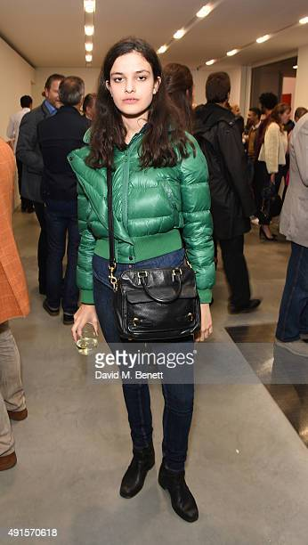 Evangeline Ling attends the launch of Damien Hirst's Newport Street Gallery on October 6 2015 in London England