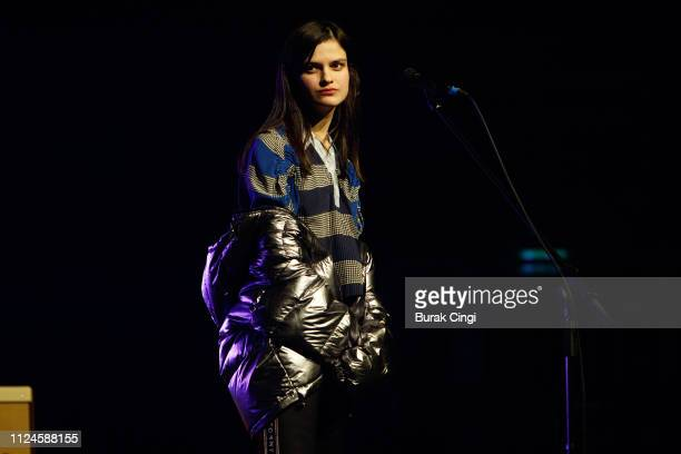 Evangeline Ling of Audiobooks perform at In the Round series at The Roundhouse on January 24 2019 in London England
