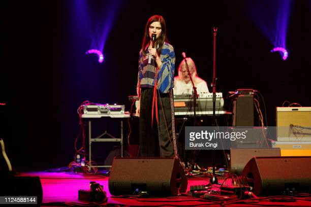 Evangeline Ling of Audiobooks performs at In the Round series at The Roundhouse on January 24 2019 in London England