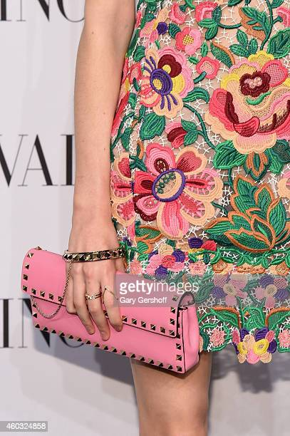 Evangeline Smyrniotaki attends the Valentino Sala Bianca 945 Event on December 10 2014 in New York City