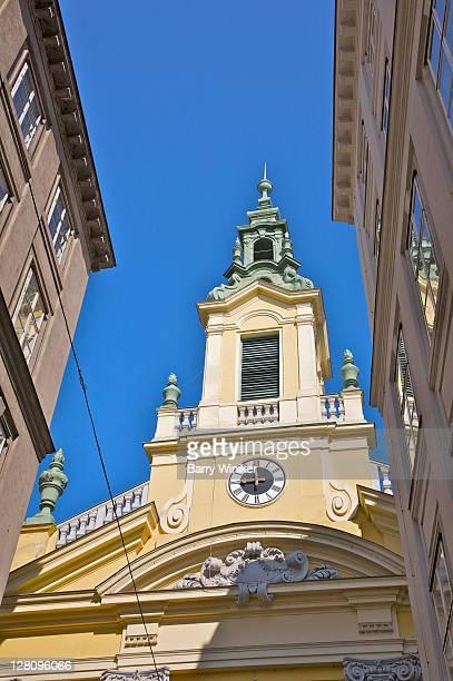 evangelische kirche (evangelical church), vienna, austria - kirche stock pictures, royalty-free photos & images