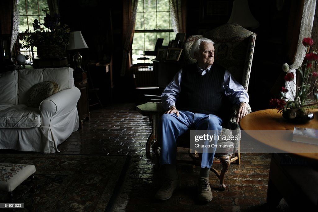 Billy Graham : News Photo